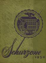 1950 Yearbook Schurz High School