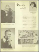 1950 Burkburnett High School Yearbook Page 10 & 11