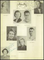 1950 Burkburnett High School Yearbook Page 14 & 15