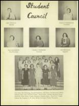 1950 Burkburnett High School Yearbook Page 16 & 17