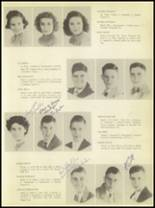1950 Burkburnett High School Yearbook Page 20 & 21