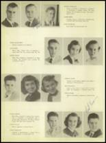 1950 Burkburnett High School Yearbook Page 22 & 23