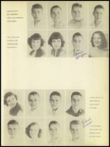 1950 Burkburnett High School Yearbook Page 24 & 25