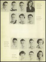 1950 Burkburnett High School Yearbook Page 26 & 27