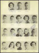 1950 Burkburnett High School Yearbook Page 32 & 33