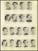 1950 Burkburnett High School Yearbook Page 34 & 35