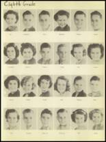 1950 Burkburnett High School Yearbook Page 38 & 39
