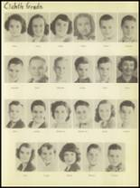 1950 Burkburnett High School Yearbook Page 40 & 41