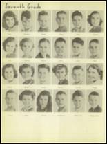 1950 Burkburnett High School Yearbook Page 44 & 45