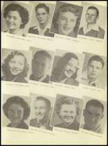 1950 Burkburnett High School Yearbook Page 52 & 53