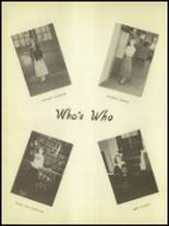 1950 Burkburnett High School Yearbook Page 54 & 55