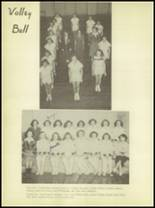 1950 Burkburnett High School Yearbook Page 72 & 73