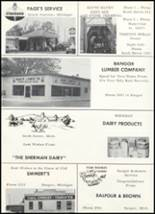 1960 Bangor High School Yearbook Page 100 & 101