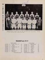 1957 Rosebud High School Yearbook Page 28 & 29