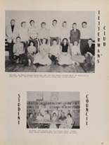 1957 Rosebud High School Yearbook Page 38 & 39