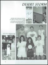 1991 Sullivan High School Yearbook Page 110 & 111