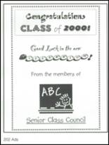 2000 Gateway High School Yearbook Page 206 & 207