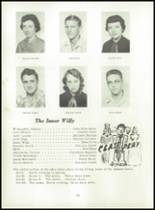 1955 Strahan Consolidated School Yearbook Page 22 & 23