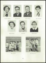 1955 Strahan Consolidated School Yearbook Page 24 & 25