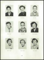 1955 Strahan Consolidated School Yearbook Page 26 & 27