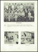 1955 Strahan Consolidated School Yearbook Page 30 & 31