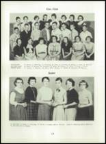 1955 Strahan Consolidated School Yearbook Page 34 & 35