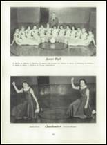 1955 Strahan Consolidated School Yearbook Page 38 & 39