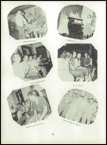 1955 Strahan Consolidated School Yearbook Page 42 & 43