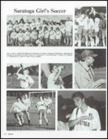 1991 Saratoga Springs High School Yearbook Page 56 & 57