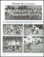 1991 Saratoga Springs High School Yearbook Page 66 & 67