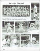 1991 Saratoga Springs High School Yearbook Page 78 & 79