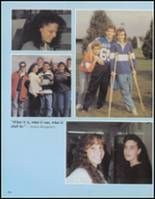 1991 Saratoga Springs High School Yearbook Page 168 & 169