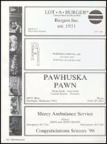 1990 Pawhuska High School Yearbook Page 140 & 141