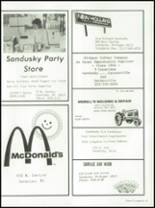 1984 Sandusky High School Yearbook Page 84 & 85