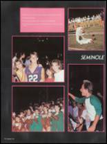 1987 Seminole High School (Pinellas County) Yearbook Page 86 & 87