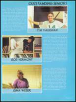1987 Seminole High School (Pinellas County) Yearbook Page 90 & 91