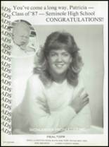 1987 Seminole High School (Pinellas County) Yearbook Page 232 & 233