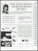 1987 Seminole High School (Pinellas County) Yearbook Page 234 & 235