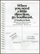 1987 Seminole High School (Pinellas County) Yearbook Page 236 & 237