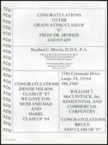 1987 Seminole High School (Pinellas County) Yearbook Page 238 & 239