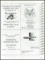 1987 Seminole High School (Pinellas County) Yearbook Page 242 & 243