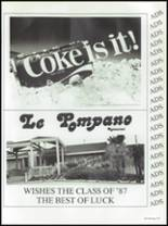 1987 Seminole High School (Pinellas County) Yearbook Page 254 & 255