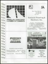 1987 Seminole High School (Pinellas County) Yearbook Page 260 & 261