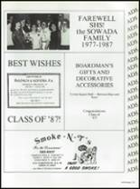 1987 Seminole High School (Pinellas County) Yearbook Page 262 & 263