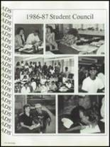 1987 Seminole High School (Pinellas County) Yearbook Page 278 & 279