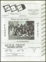 1987 Seminole High School (Pinellas County) Yearbook Page 284 & 285