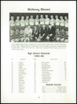 1966 McHenry High School Yearbook Page 30 & 31