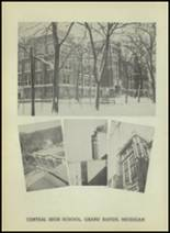 1947 Central High School Yearbook Page 14 & 15