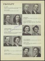 1947 Central High School Yearbook Page 18 & 19