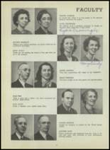 1947 Central High School Yearbook Page 20 & 21